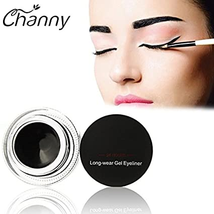 Buy Fission Black : 1pc Makeup Black Gel Eyeliner Waterproof Smudgeproof Eye Liner Kit for Party Swimming Makeups by Music Flower Cosmetics Set Online at ...
