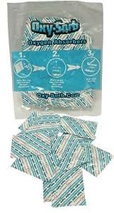 20–300cc oxígeno Amortiguador para secos deshidratados y de emergencia alimentaria a largo plazo de almacenamiento de alimentos, jardín, césped, Mantenimiento