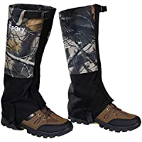 Hpory 1 Pair Hiking Leg Gaiters, Snow Boot Gaiters,...