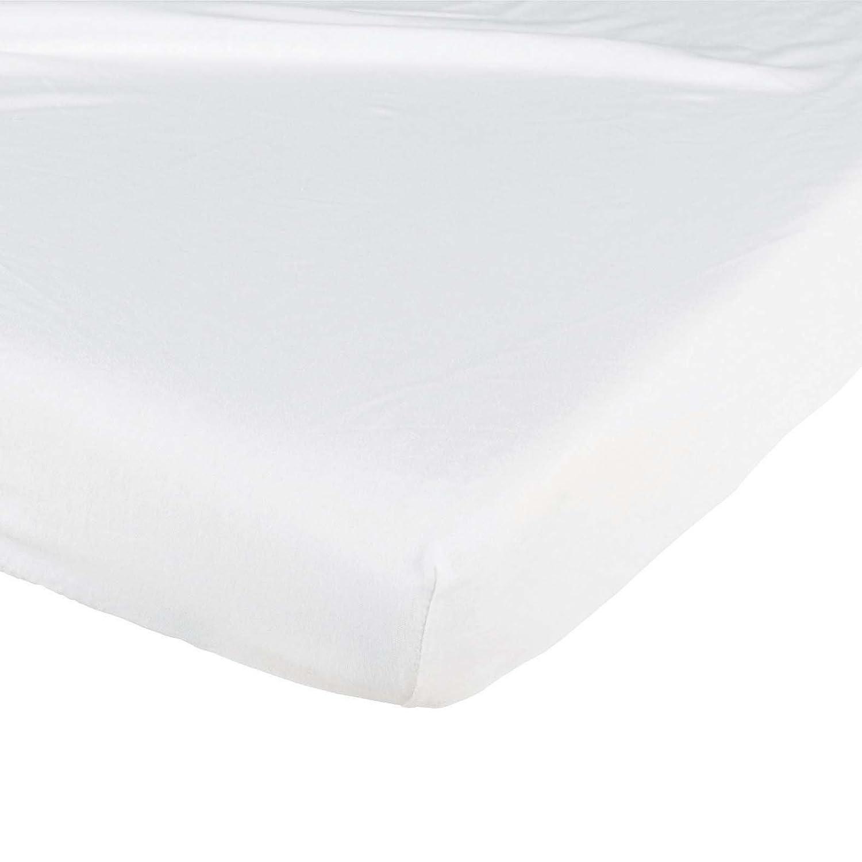Tin/éo Drap Housse Imperm/éable Blanc 60 x 120 cm