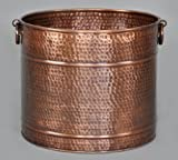Cheap Solid Copper Planter 15″ Diameter x 13.25″ Height, 3 sizes available by Excellent Accents