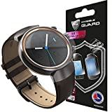ASUS ZenWatch 3 Screen Protector (4 Units) Invisible Ultra HD Clear Film Anti Scratch Skin Guard - Smooth / Self-Healing / Bubble -Free By IPG