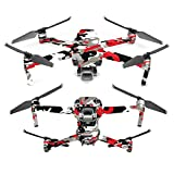MightySkins Skin for DJI Mavic 2 Pro or Zoom – Red Camo | Protective, Durable, and Unique Vinyl Decal wrap Cover | Easy to Apply, Remove, and Change Styles | Made in The USA Review