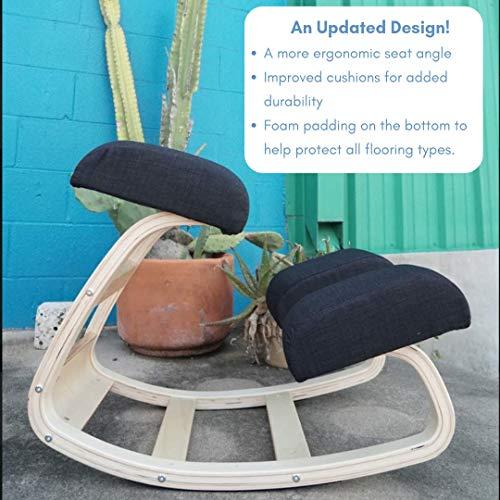 Strange Sleekform Austin Ergonomic Kneeling Chair Rocking Posture Frankydiablos Diy Chair Ideas Frankydiabloscom