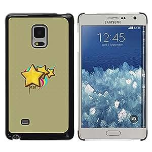 iKiki Tech / Estuche rígido - Cute Star - Samsung Galaxy Mega 5.8 9150 9152