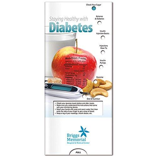 BIC Graphic Pocket Slider: Diabetes White 2500 Pack