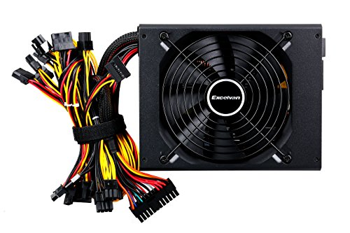 Excelvan ATX Computer Power Supply Desktop PC for Intel AMD PC SATA US (1000W) by Excelvan (Image #3)