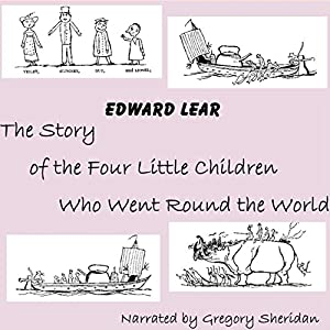 The Story of the Four Little Children Who Went Round the World Audiobook