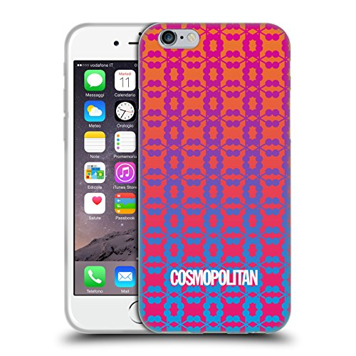 Official Cosmopolitan Ombre 9 Fun Summer Soft Gel Case for Apple iPhone 6 / 6s