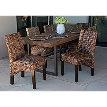 Superior BirdRock Home Abaca And Seagrass Side Chair Set | 2 Pc | Delivered Fully  Assembled