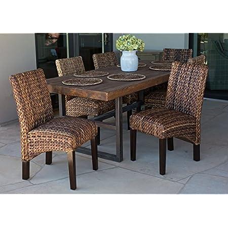 51wG9XZ%2BtrL._SS450_ Wicker Dining Chairs