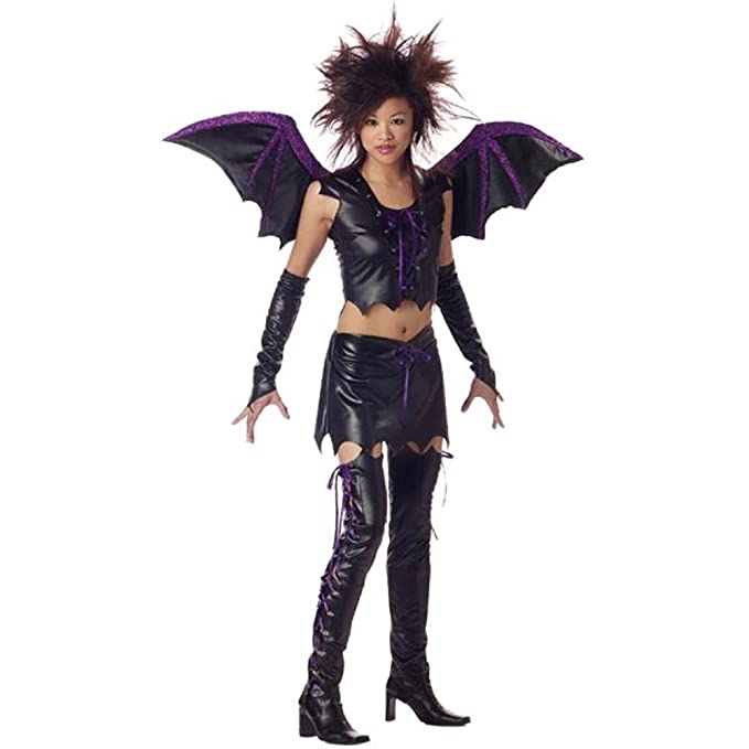 teen vixen bat girl halloween costume teen 3 5