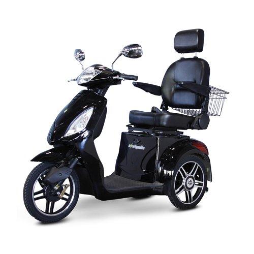 EWheels-EW-36-3-Wheel-Mobility-Scooter-Black-BMC-EWH-EW-36BLK