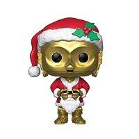 Deals on Funko Pop Star Wars: Holiday Santa C-3Po Collectible Figure