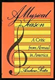 A Musical Season, Andrew Porter, 0670496502