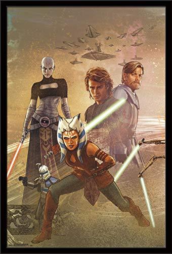 Trends International Star Celebration Clone Wars Wall Poster 24.25