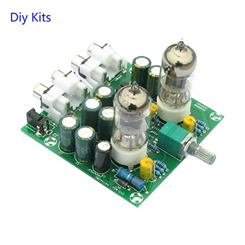 Aoshike 6J1 valve tube amplifier kit 6J1 tube preamp amplifier board Pre-amp Headphone amp Preamplifier Aoshike