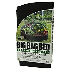 Smart Pots Big Bag Bed Fabric Raised Bed 7 Dimensions: 12L x 12W x 2.4H in. Has LCD display Calculates total and single use water consumption