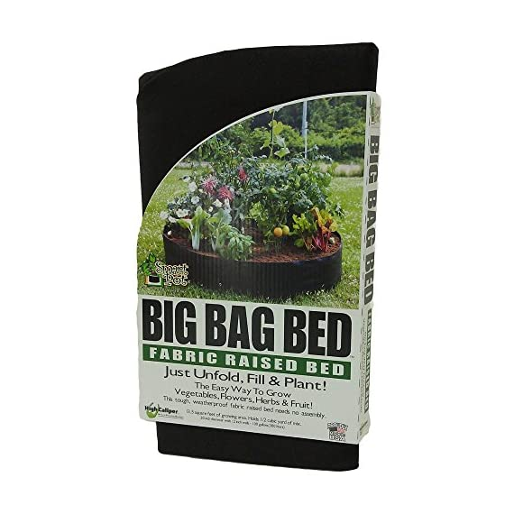 Smart Pots Big Bag Bed Fabric Raised Bed 1 Dimensions: 12L x 12W x 2.4H in. Has LCD display Calculates total and single use water consumption