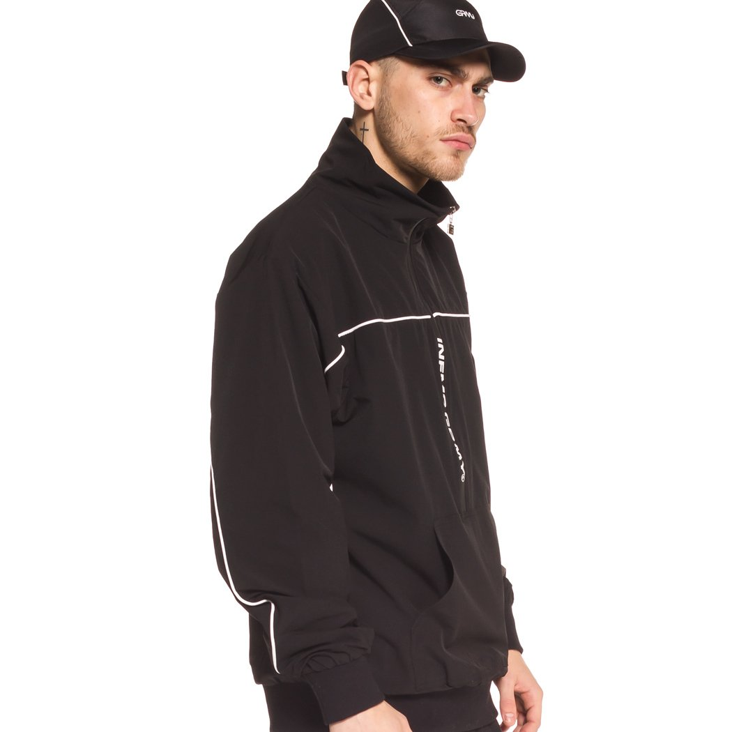 Grimey Chaqueta COUNTERBLOW Pull Over Jacket SS18 Black: Amazon.es: Ropa y accesorios