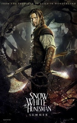 SNOW WHITE AND THE HUNTSMAN ORIGINAL MOVIE POSTER