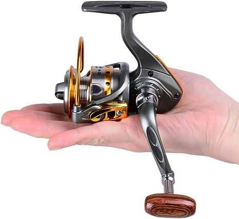 Tintins Carrete de pesca Carretes para Pesca Spinning 5.2:1 ...