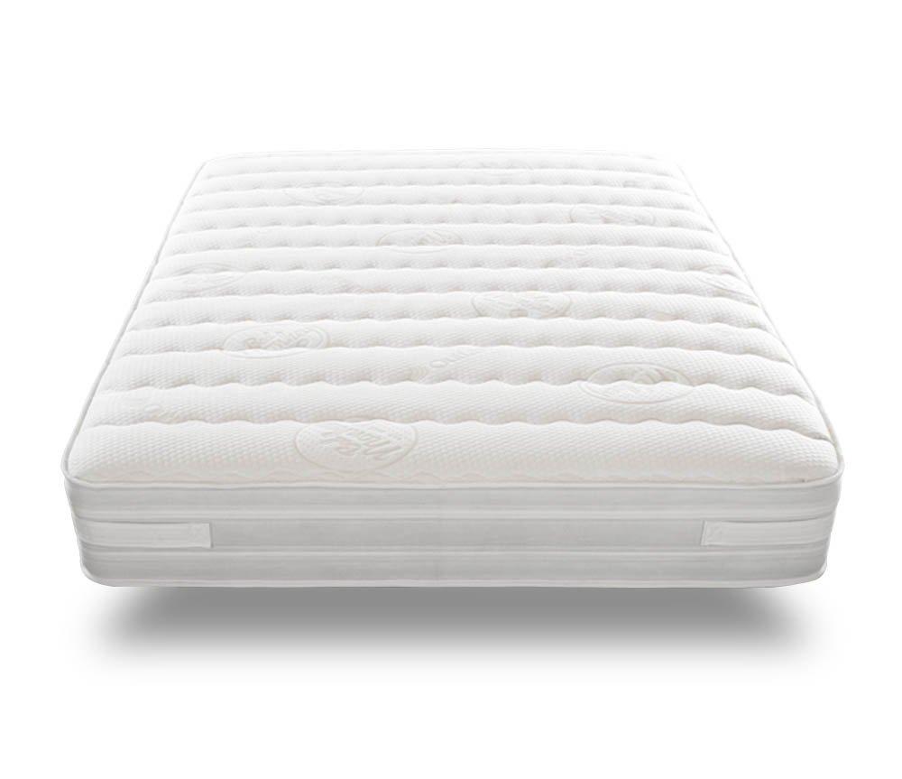 bedmonkey 3000Matratze, 136x 200x 32cm, weiß, Weiß, 180 x 200 cm