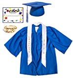 Blue Deluxe Matte Preschool Graduation Set - Small, 7-Piece Set
