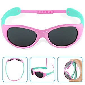 Boys Girls Kids Polarized UV Protection Sunglasses NSS0701pink