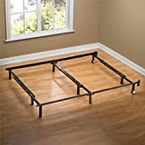 Cheap Sleep Revolution Compack Universal Bed Frame with Wheels, Fits Full to California King Sizes