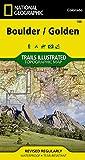 Boulder, Golden (National Geographic Trails Illustrated Map)