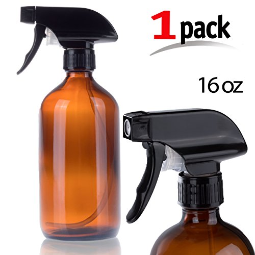 Iprimio Spray Bottle – 16oz Refillable Amber Glass Spray Mister for Water, Essential Oils, Aromatherapy, Organic Cleaning Products or for Hair and Body - Wide How Should Glasses Be