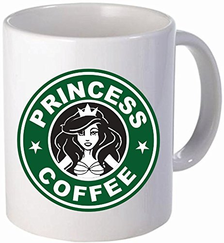 Princess coffee - Funny coffee mug by Donbicentenario - 11OZ - SHIPS FROM USA (Disney Stuff Women)