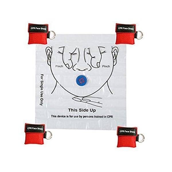 LSIKA-Z Paquete de 10pcs CPR Máscara 5