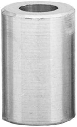 Rohrbuchse H/ülsen Abstandsh/ülsen Distanzbuchsen Abstandsbuchsen Schildhalter /Ø Au/ßen 10 mm L/änge 5 mm FASTON Aluminium Distanzh/ülsen M6 /Ø innen 6,5 mm 4 St/ück
