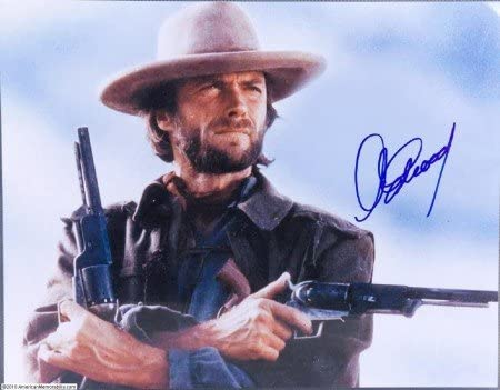 Set of Six 8x10 Photos Clint Eastwood Western Film Collage Collection