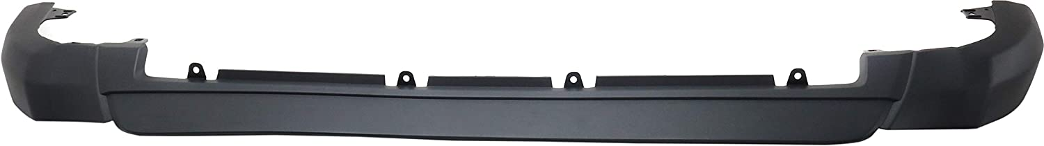 Aftermarket Front Lower Valance Compatible with 2016-2018 Toyota RAV4 Bumper Guard Textured LE Model CAPA