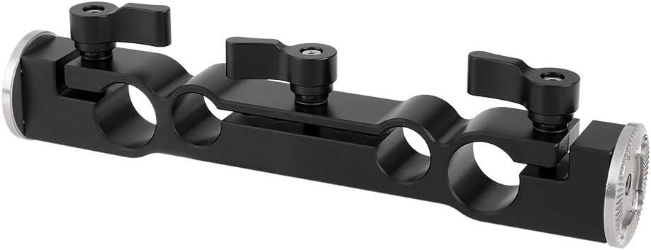 CAMVATE Rosette M6 Thread Adapter Articulated 15mm Rod Clamp