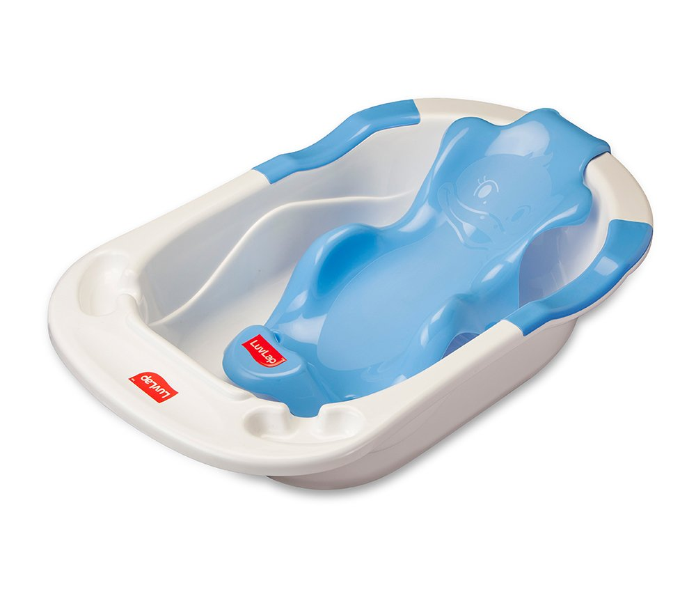 Buy LuvLap Baby Bath Chair (Blue) Online at Low Prices in India ...