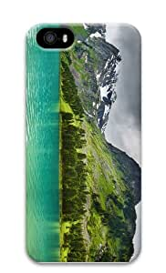 fancy case Lake in Mountains PC Case for iphone 5/5S