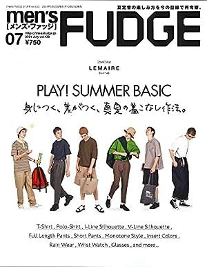 men's FUDGE - メンズ ファッジ - 2021年 7月号 Vol.133
