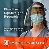ZShield Health - Reusable Face Shield w/Full Face