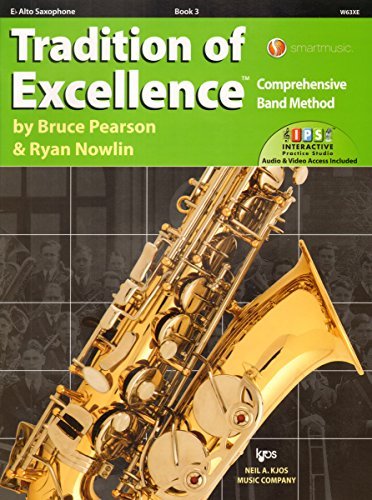 W63XE - Tradition of Excellence Book 3 - Alto Saxophone