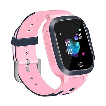 Kids Smartwatch S16 Pantalla táctil de 1.44 Pulgadas SOS Posicionamiento a Prueba de Agua Super-Standby Standby Smart Reloj de Pulsera para niños ...