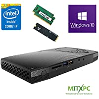 Intel BOXNUC6i7KYK 6th Gen Core i7-6770HQ SkullCanyon NUC w/ 32GB DDR4, 256GB SSD, Windows 10 Pro - Configured and Assembled by MITXPC