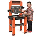 Super Realistic Black & Decker Workbench with 79 Accessories