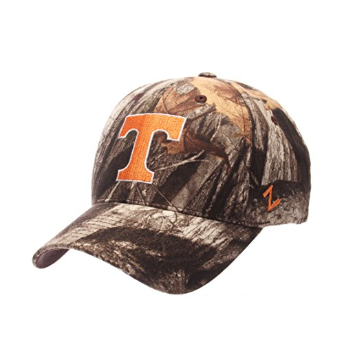 NCAA Tennessee Volunteers Men's Staple Cap, Adjustable, (Tennessee Volunteers Camo)