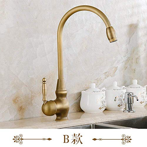 Sink Taps Hot And Cold Faucet Faucet Bronze Faucet Hot And Cold Kitchen Faucet Single Hole Swivel Faucet Ceramic Disc Cartridge