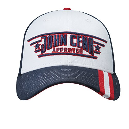 newest 11187 d9ba5 ... clearance wwe john cena cena approved baseball hat red black white one john  cena 75702 c3046