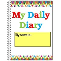 Childminder, childcare provider A5 wire bound Daily Diary 0-3 years